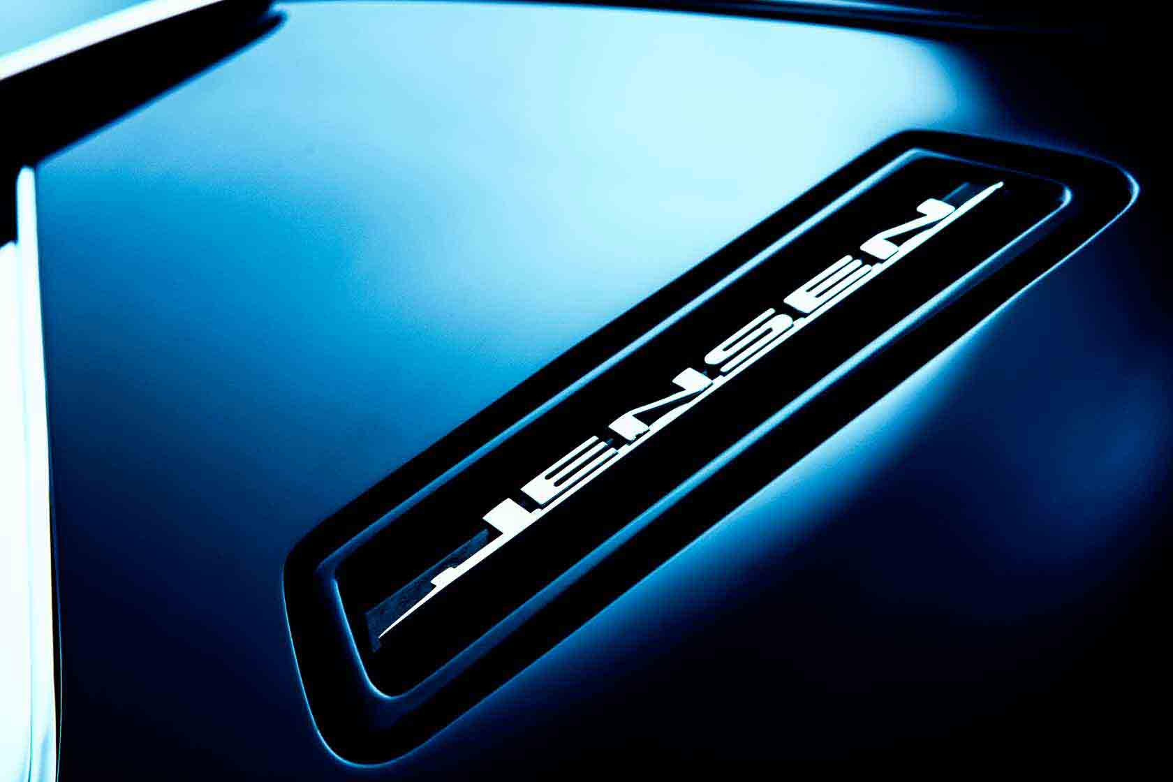 Jensen Interceptor Emblem