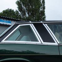 green jensen coupe roof detail