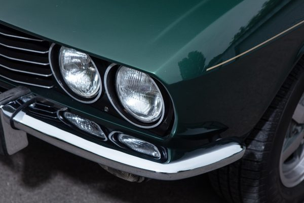 jensen coupe in green for sale headlight